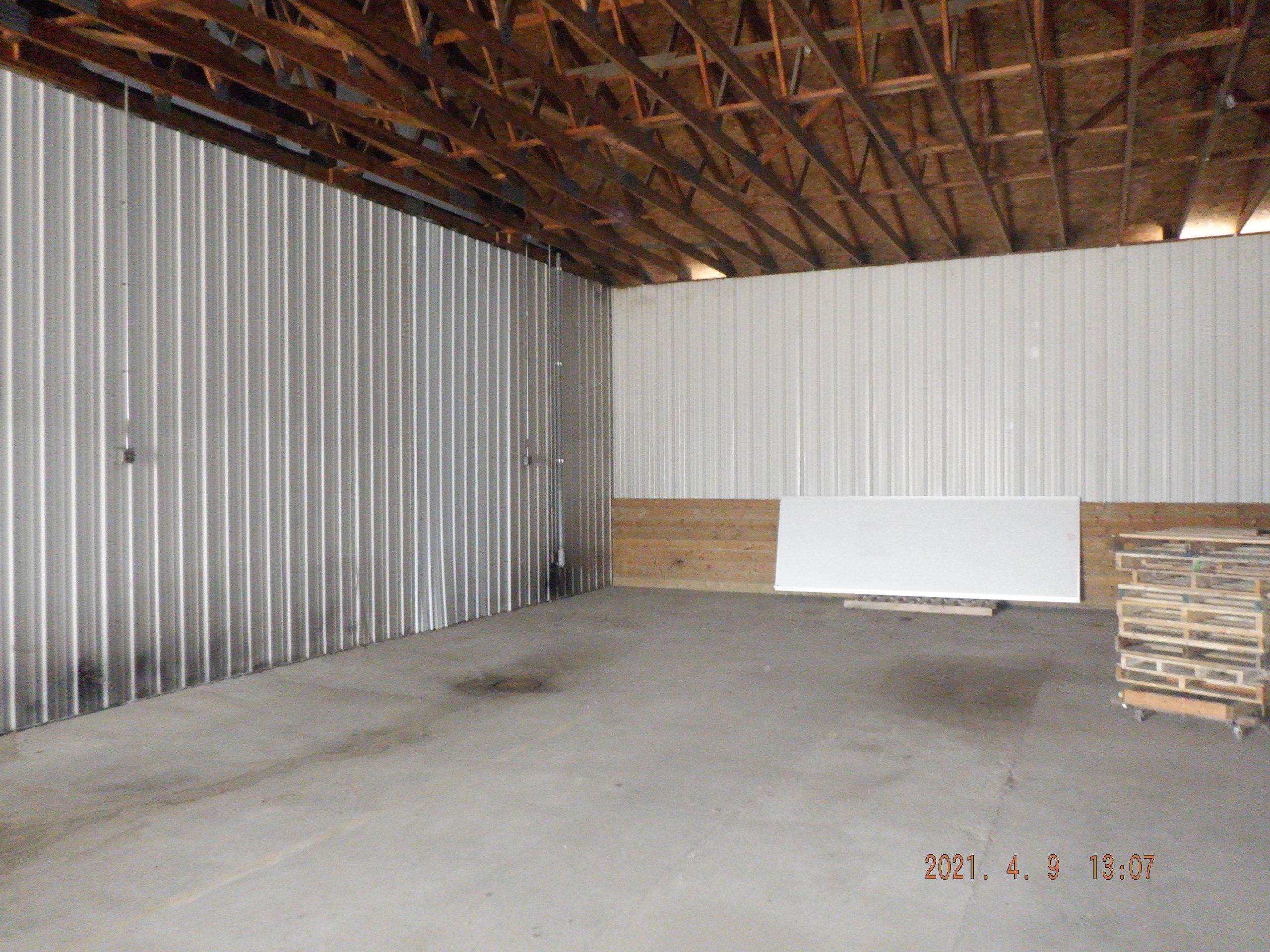 80x60 Warehouse self storage unit