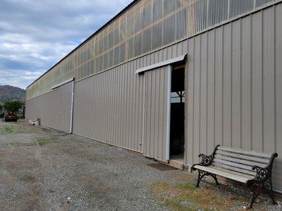 120x60 Warehouse self storage unit