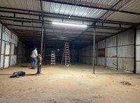 112x72 Warehouse self storage unit