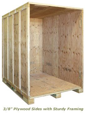 7x5 Warehouse self storage unit