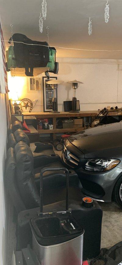 21x16 Garage self storage unit