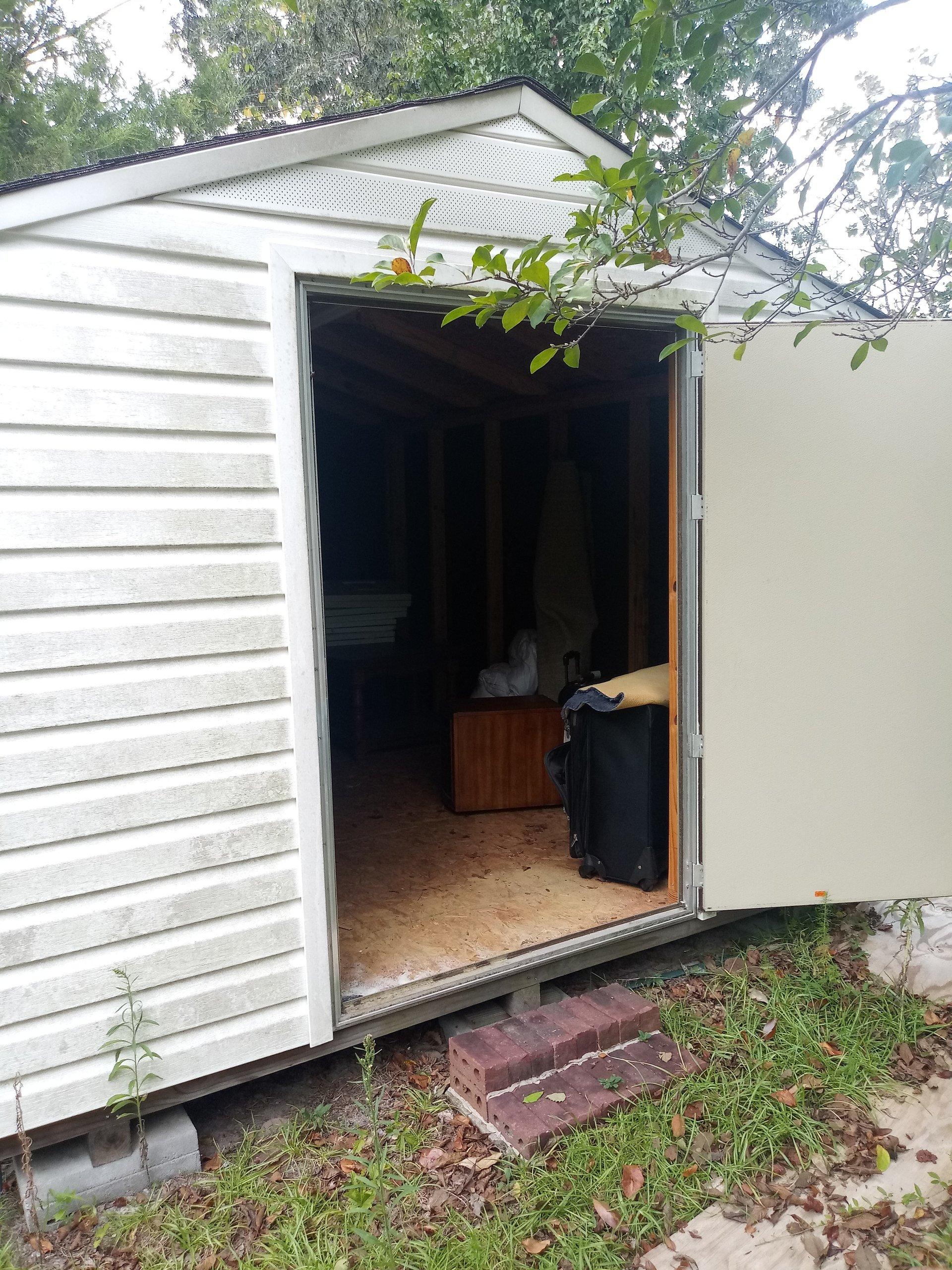 10x12 Garage self storage unit