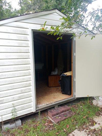 10x12 Shed self storage unit