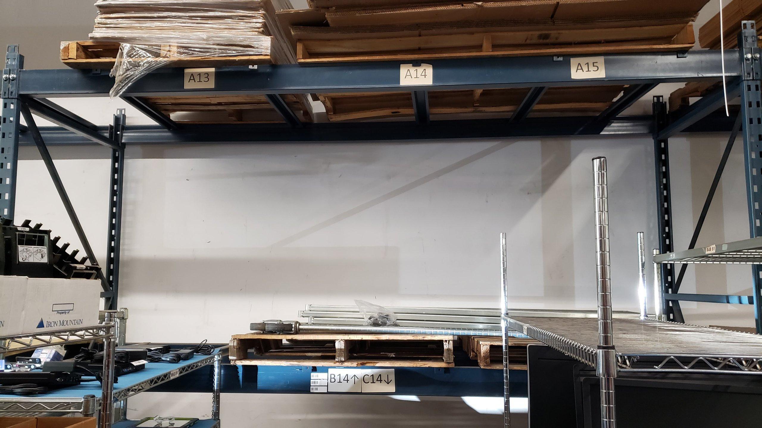 4x4 Warehouse self storage unit