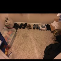 5x7 Bedroom self storage unit