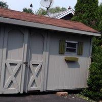 10x4 Garage self storage unit