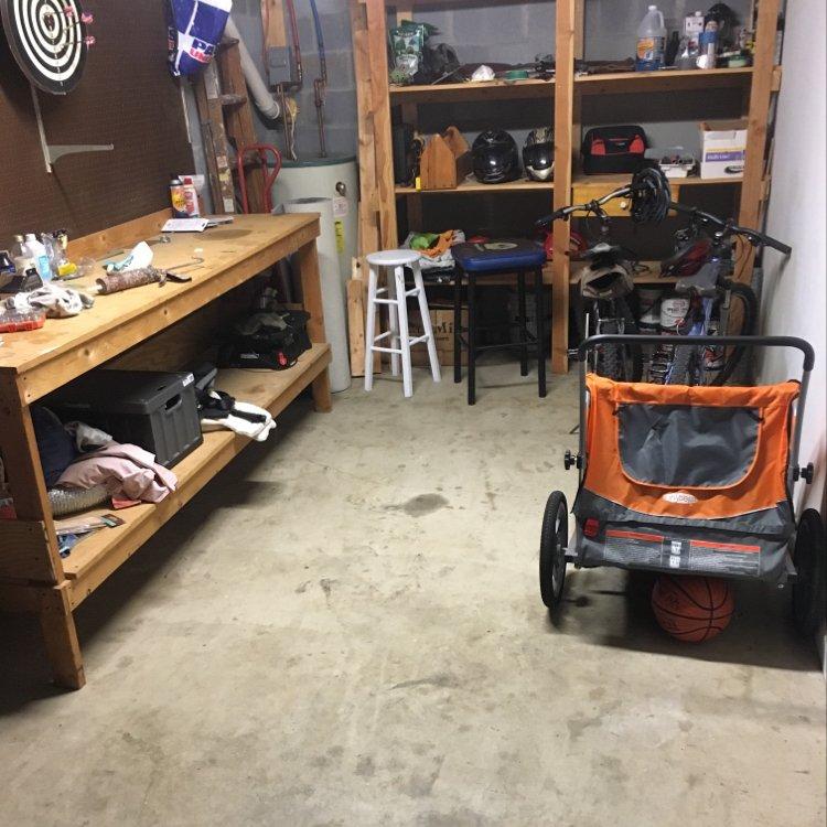9x15 Garage self storage unit