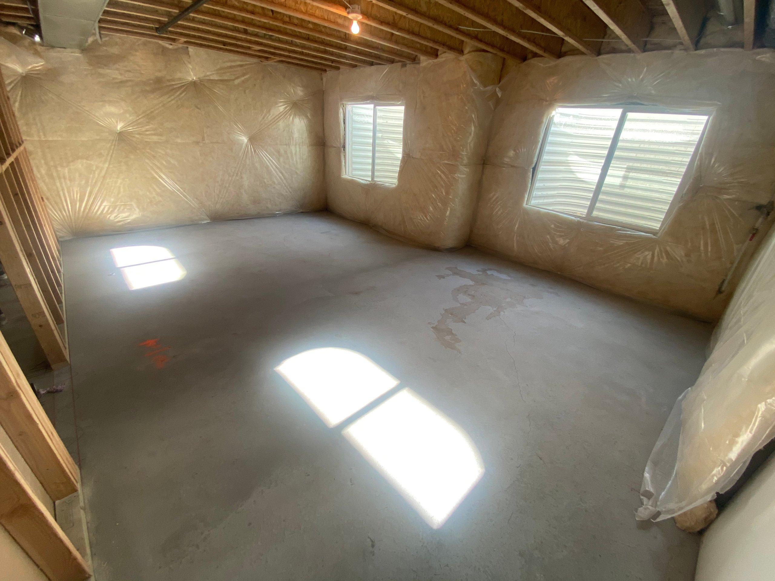 15x12 Basement self storage unit
