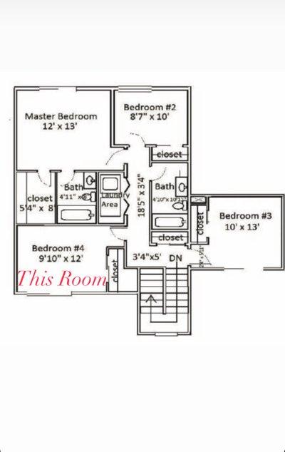 9x12 Bedroom self storage unit