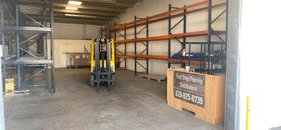 4x12 Warehouse self storage unit