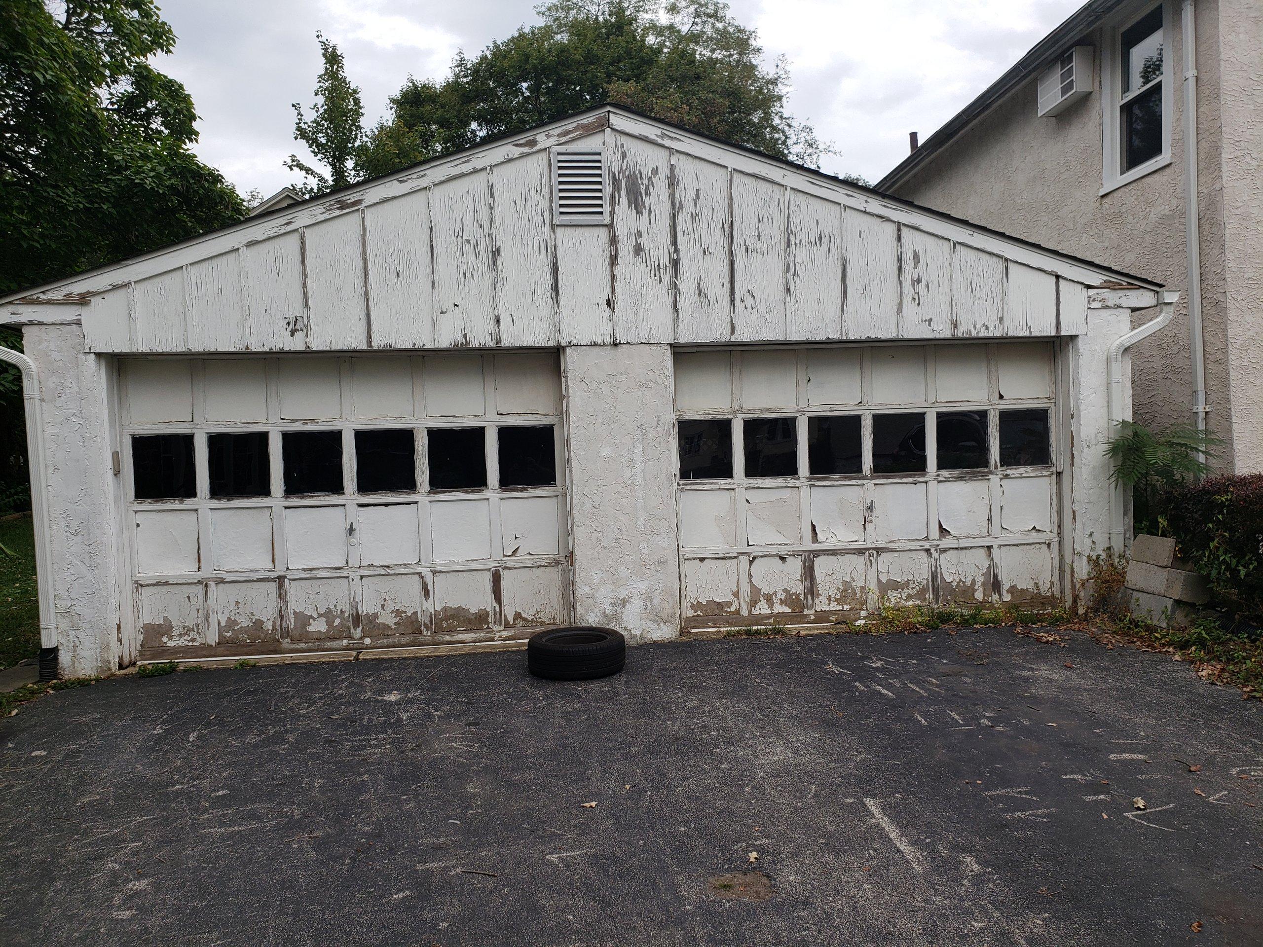 27x24 Garage self storage unit