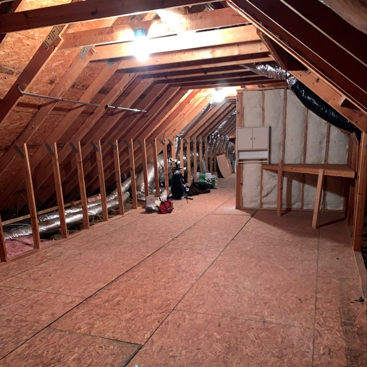 26x13 Attic self storage unit