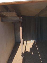 12x9 Shed self storage unit