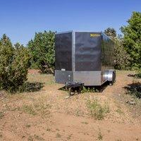 10x30 Unpaved Lot self storage unit