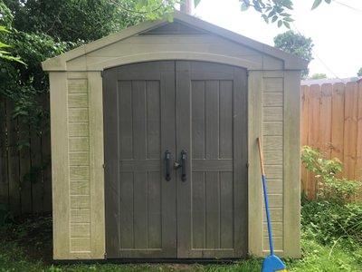 6x8 Shed self storage unit