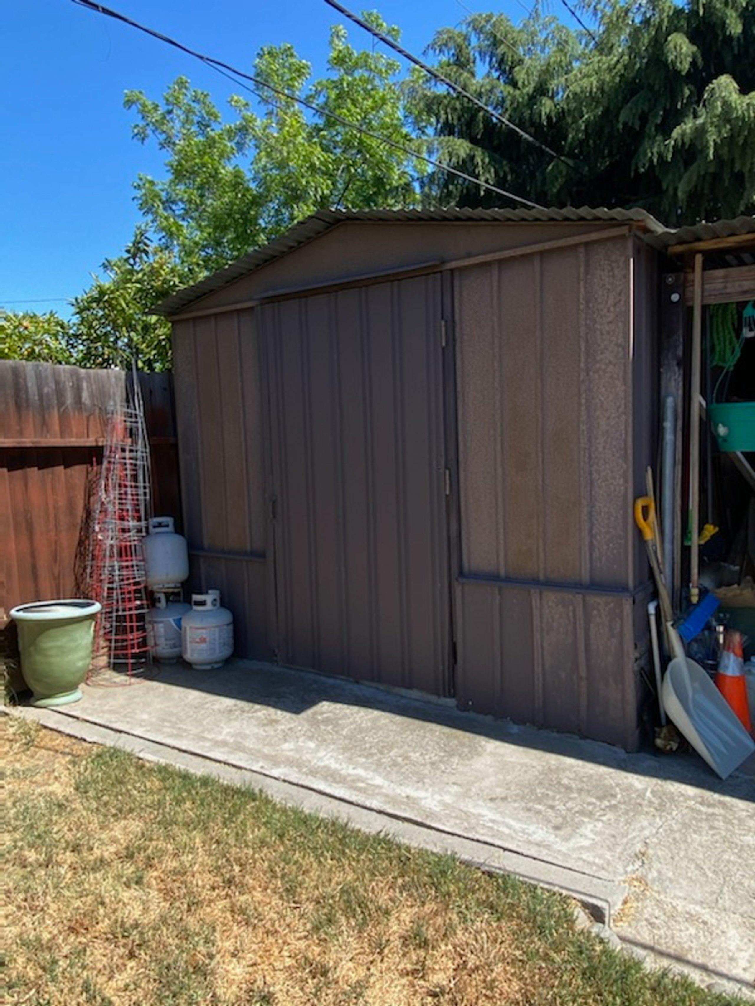 8x6 Shed self storage unit