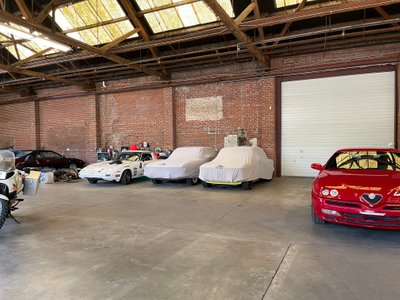 8x5 Warehouse self storage unit