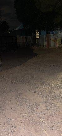 104x58 Unpaved Lot self storage unit