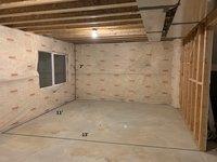 11x13 Basement self storage unit