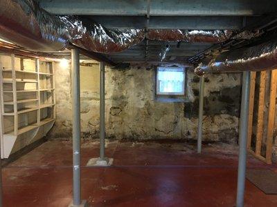15x5 Basement self storage unit