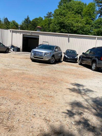 20x11 Parking Lot self storage unit