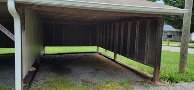 20x11 Carport self storage unit