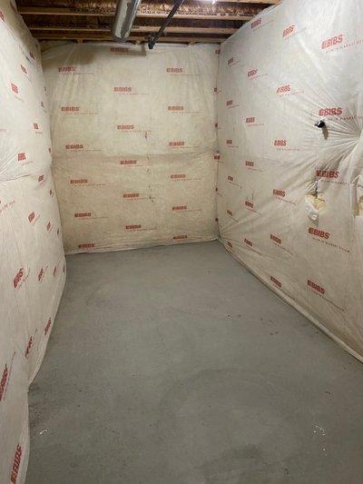 6x12 Basement self storage unit
