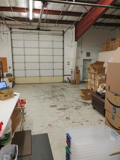 15x10 Warehouse self storage unit