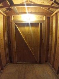 9x7 Shed self storage unit