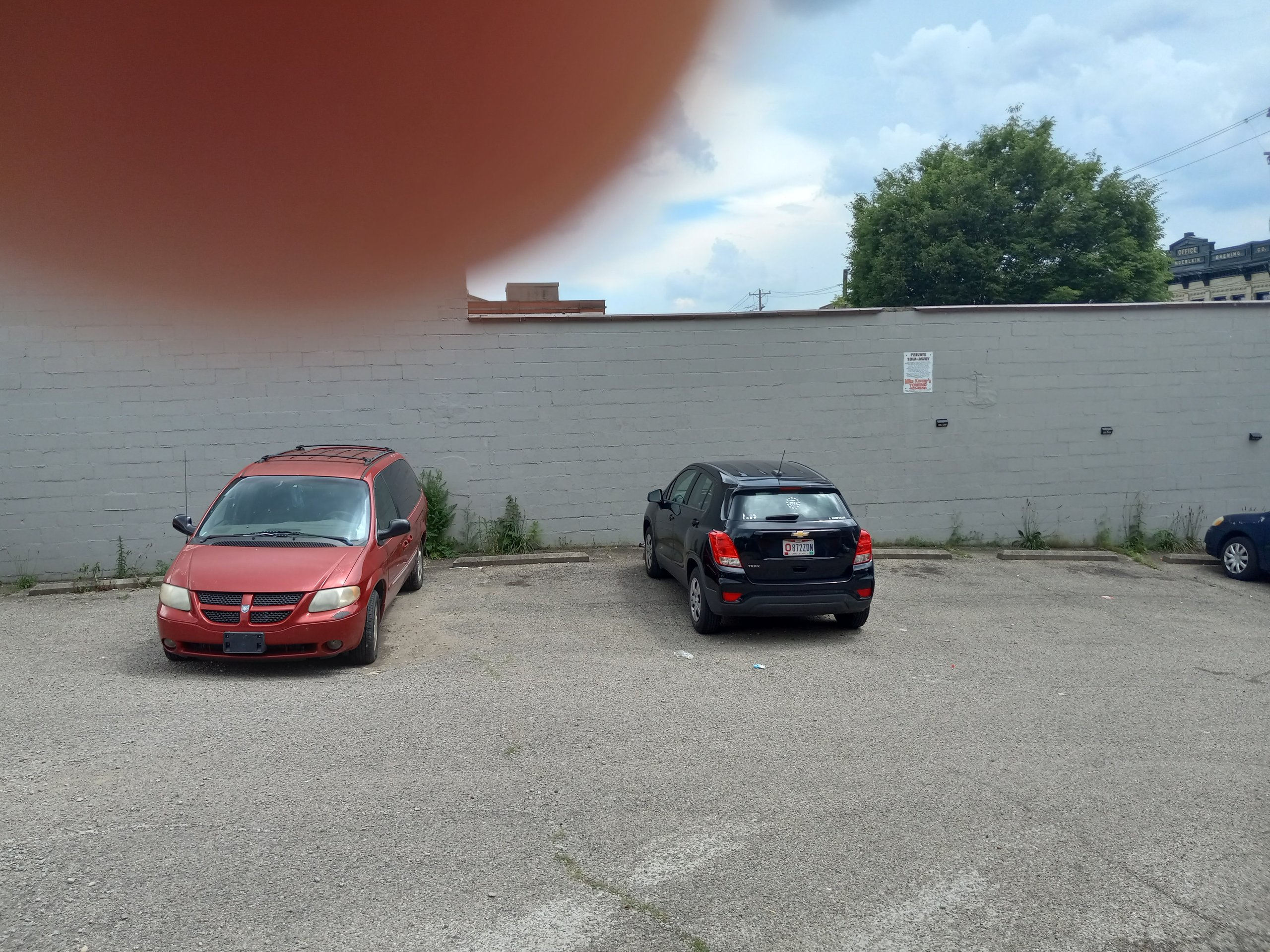 500x300 Parking Lot self storage unit