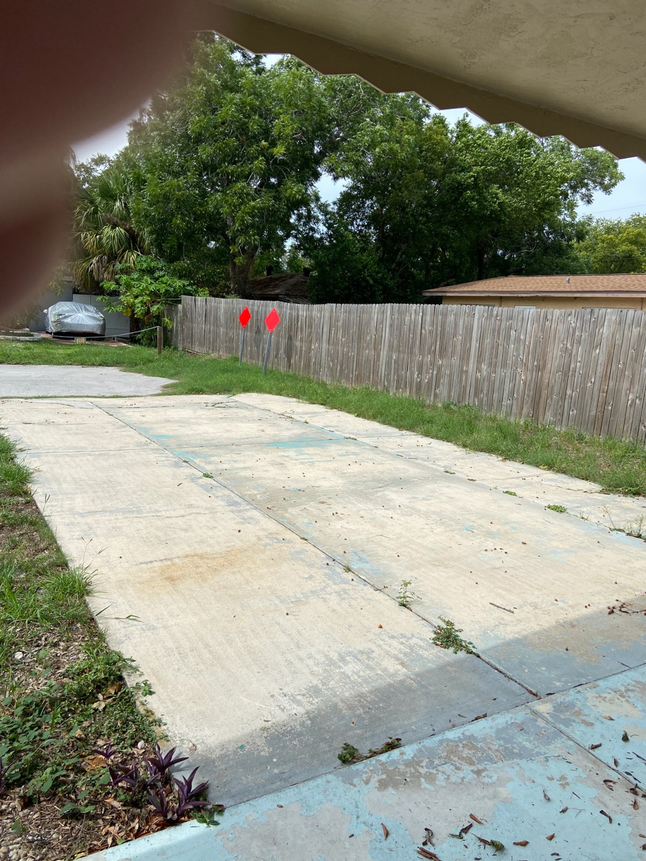 100x50 Driveway self storage unit