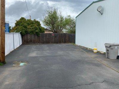 40x25 Parking Lot self storage unit