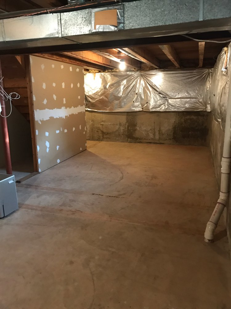 30x40 Basement self storage unit