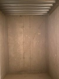 7x5 Basement self storage unit