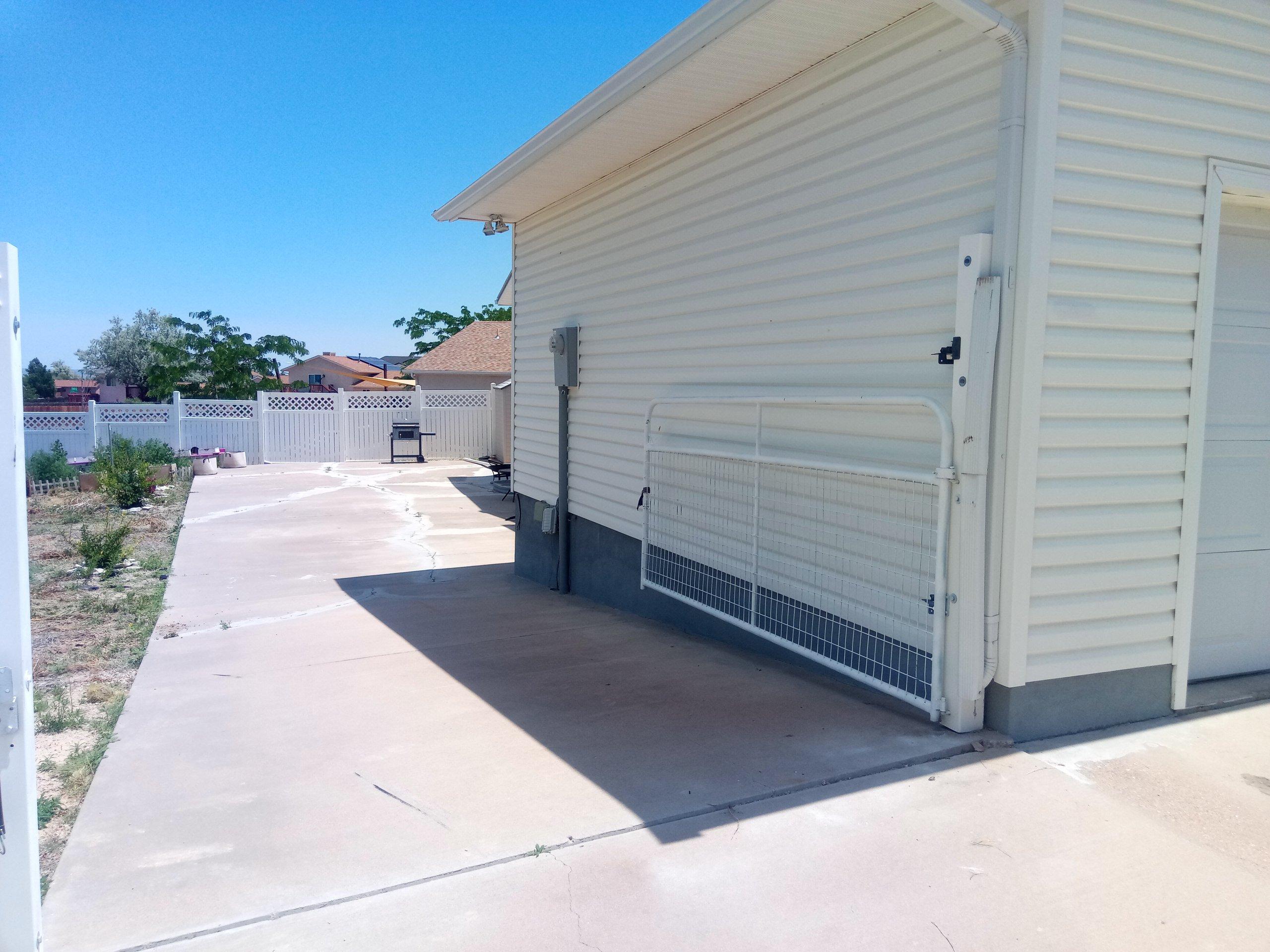 22x11 Driveway self storage unit