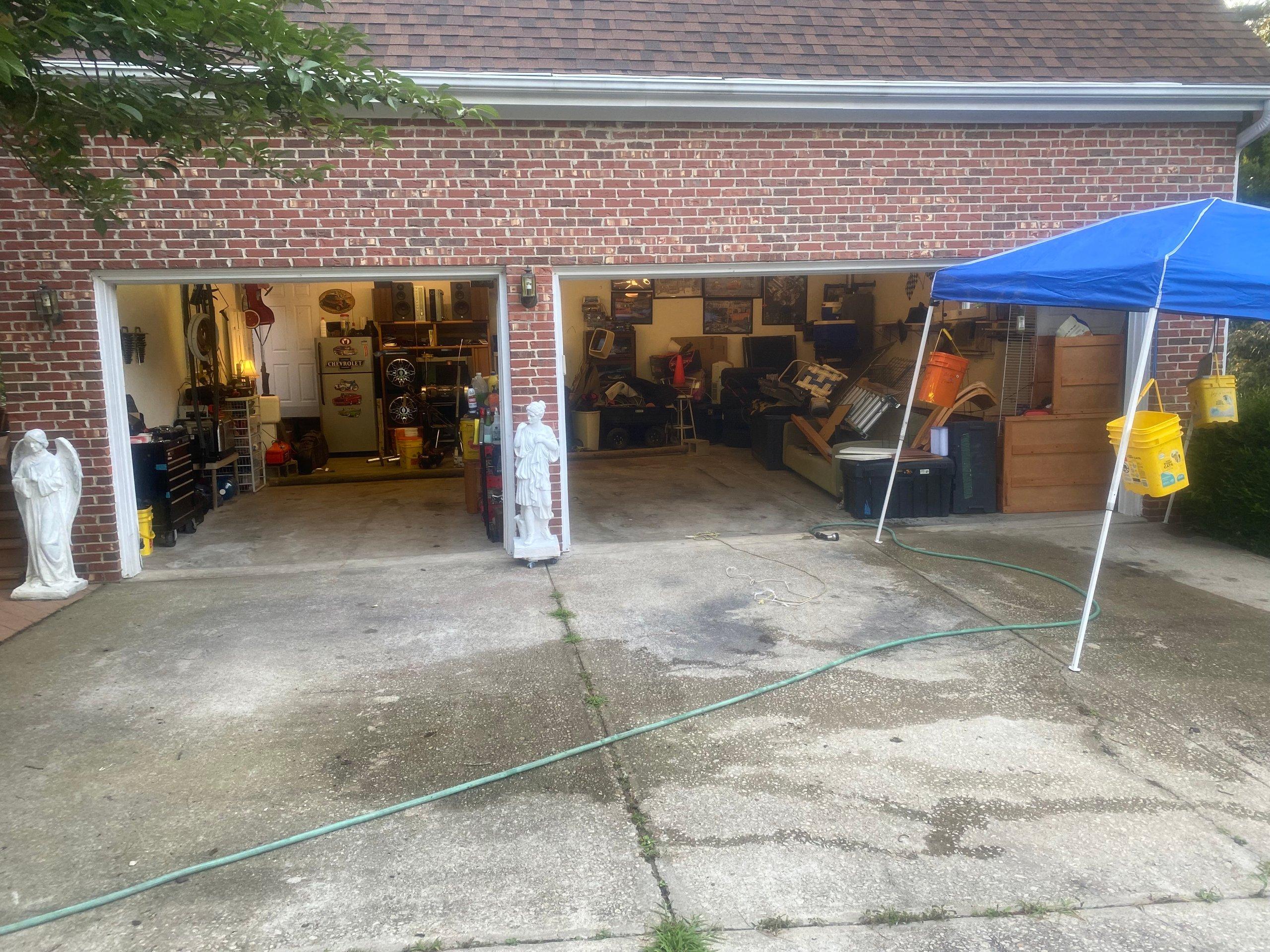 29x35 Garage self storage unit