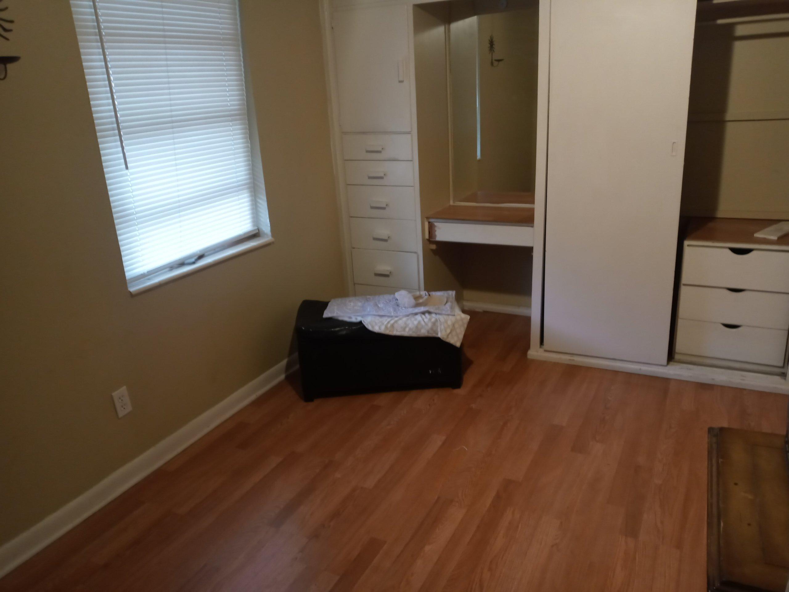 8x12 Bedroom self storage unit