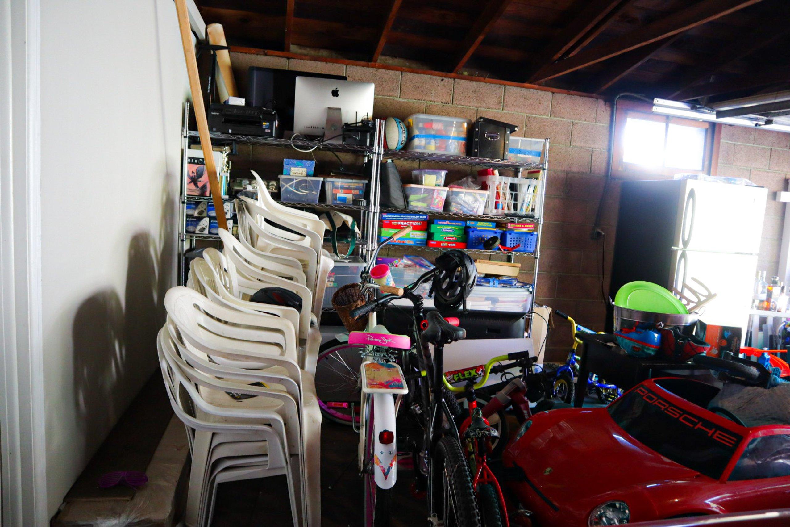 20x8 Garage self storage unit