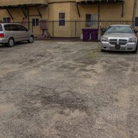 9x8 Parking Lot self storage unit