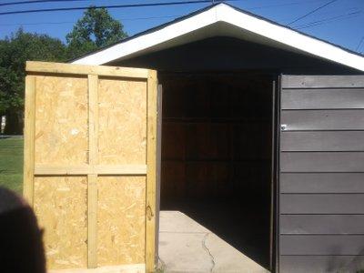 9x9 Shed self storage unit