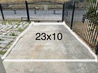 23x10 Driveway self storage unit