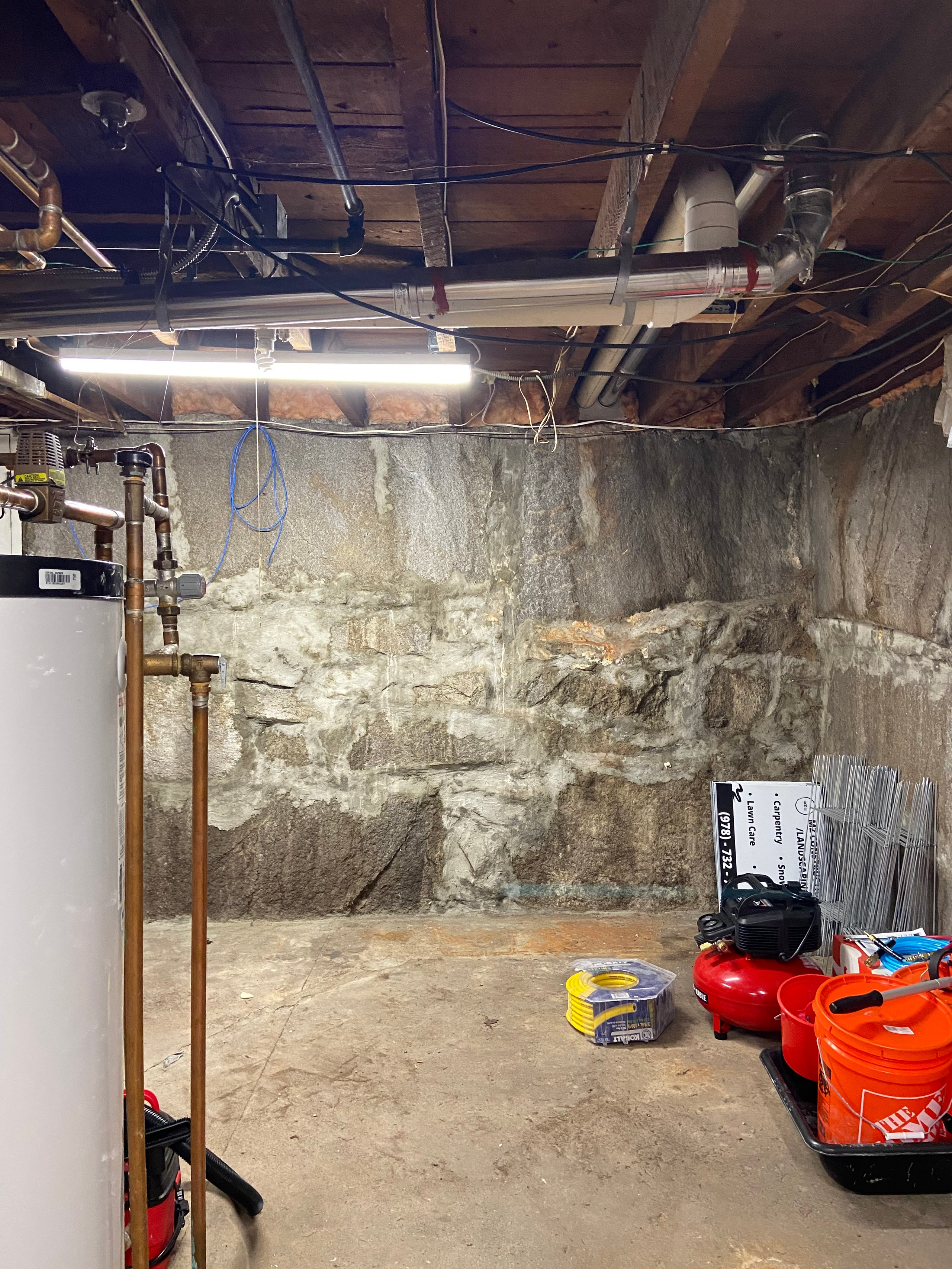 25x25 Basement self storage unit