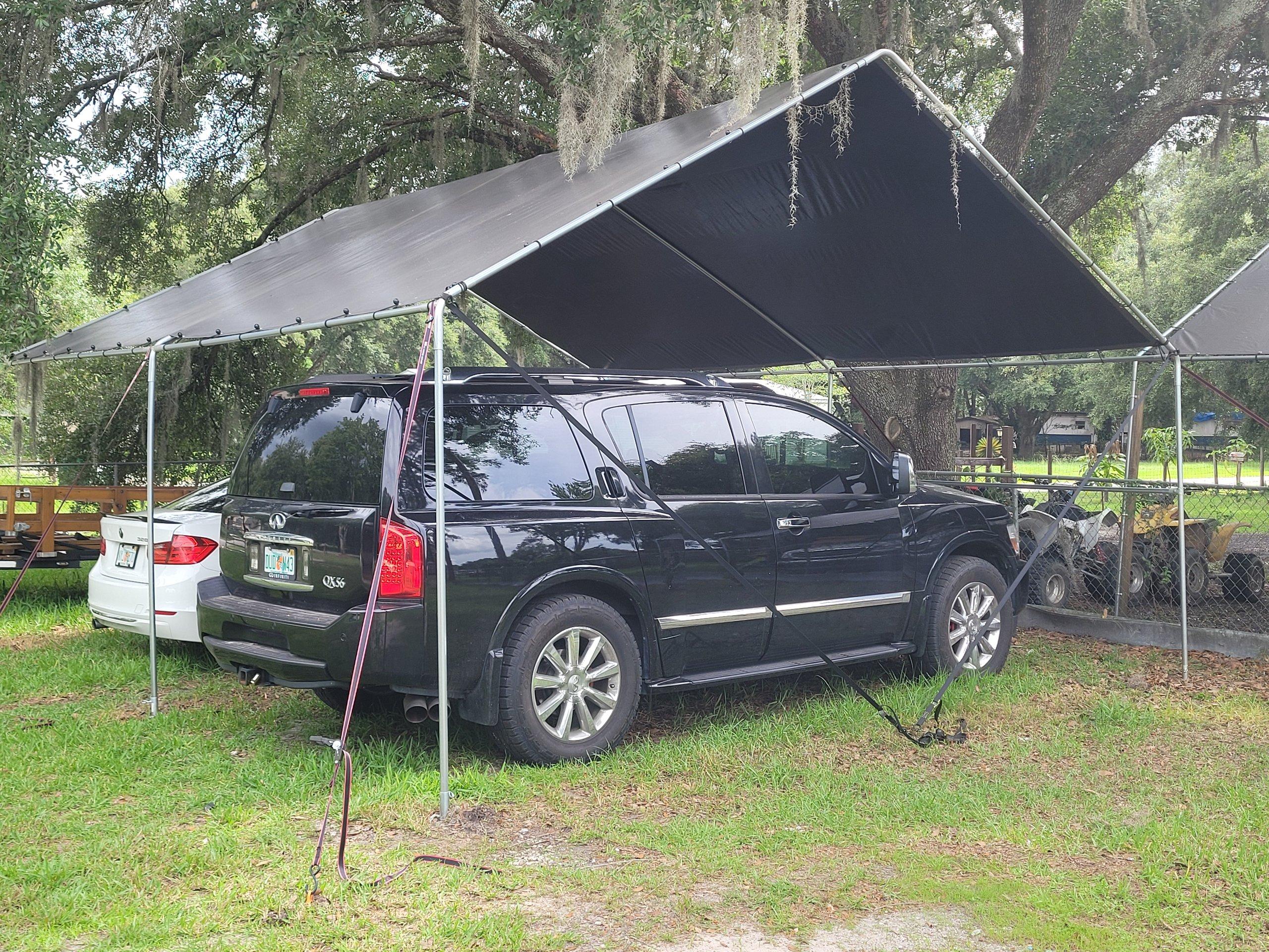 18x20 Carport self storage unit