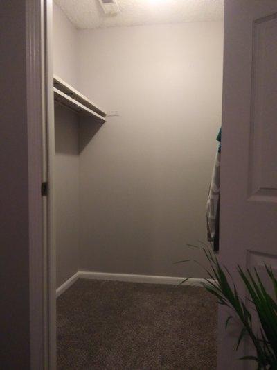 6x5 Closet self storage unit