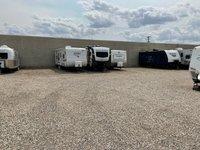 25x10 Unpaved Lot self storage unit