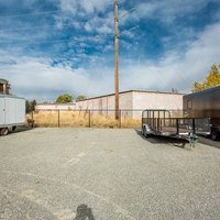 12x20 Unpaved Lot self storage unit