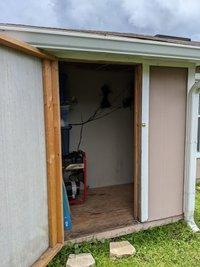 4x3 Shed self storage unit
