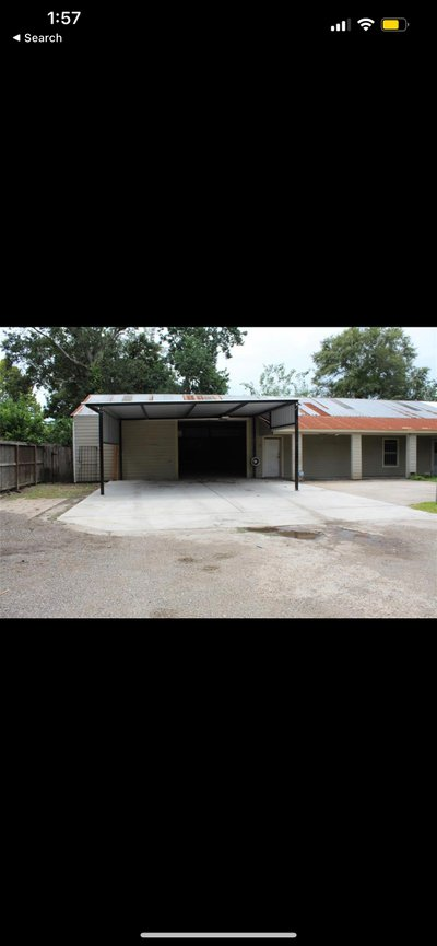 36x60 Warehouse self storage unit