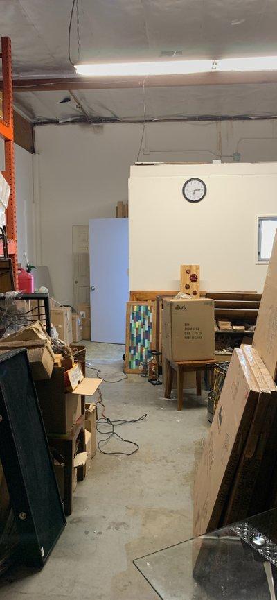 100x10 Warehouse self storage unit