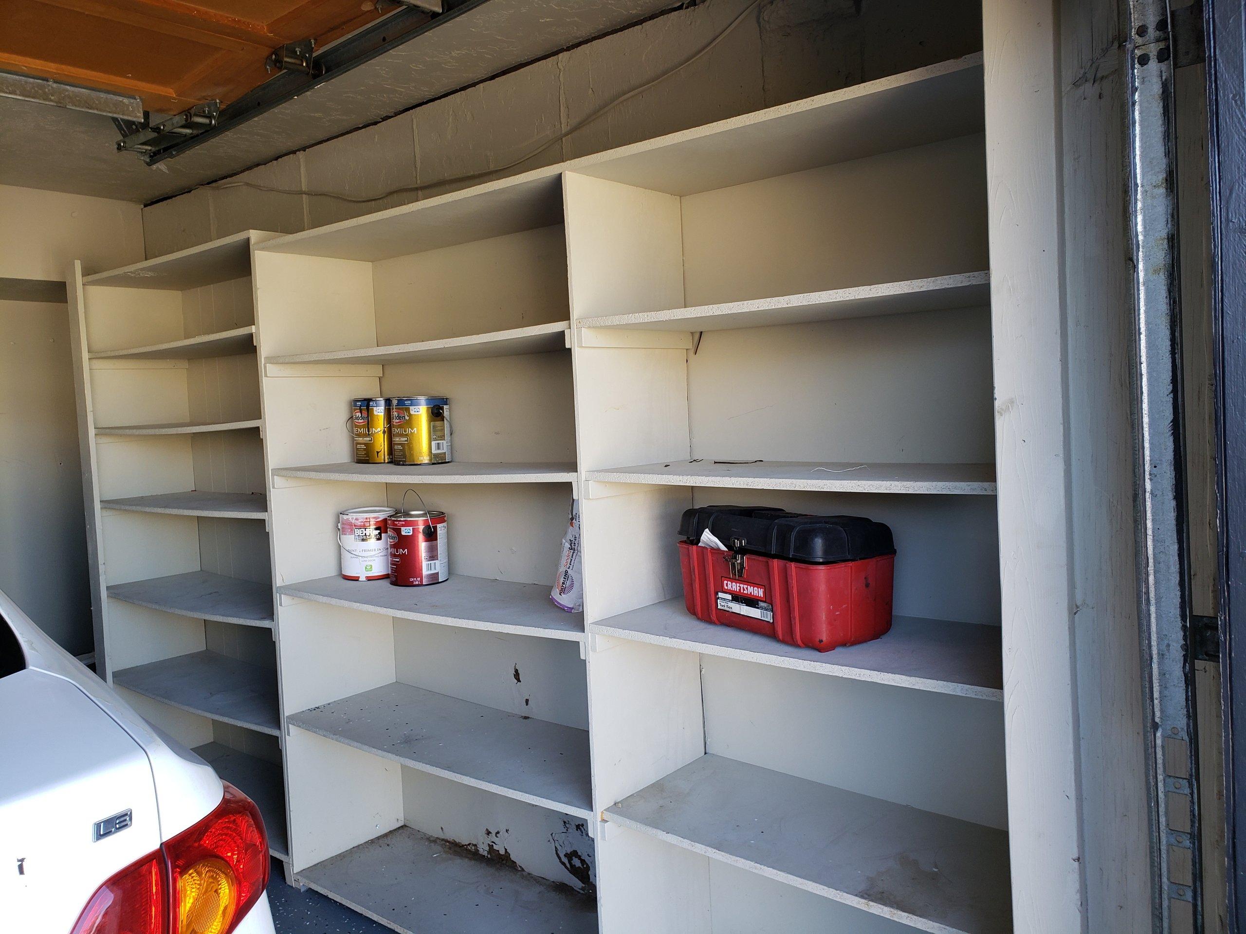 6x12 Garage self storage unit